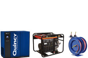 Now Offering Products From Mi-T-M, Quincy Compressors, and COXReels