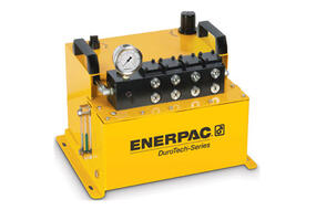 Introducing the Enerpac DuroTech™ Series, Air Driven Hydraulic Power Units