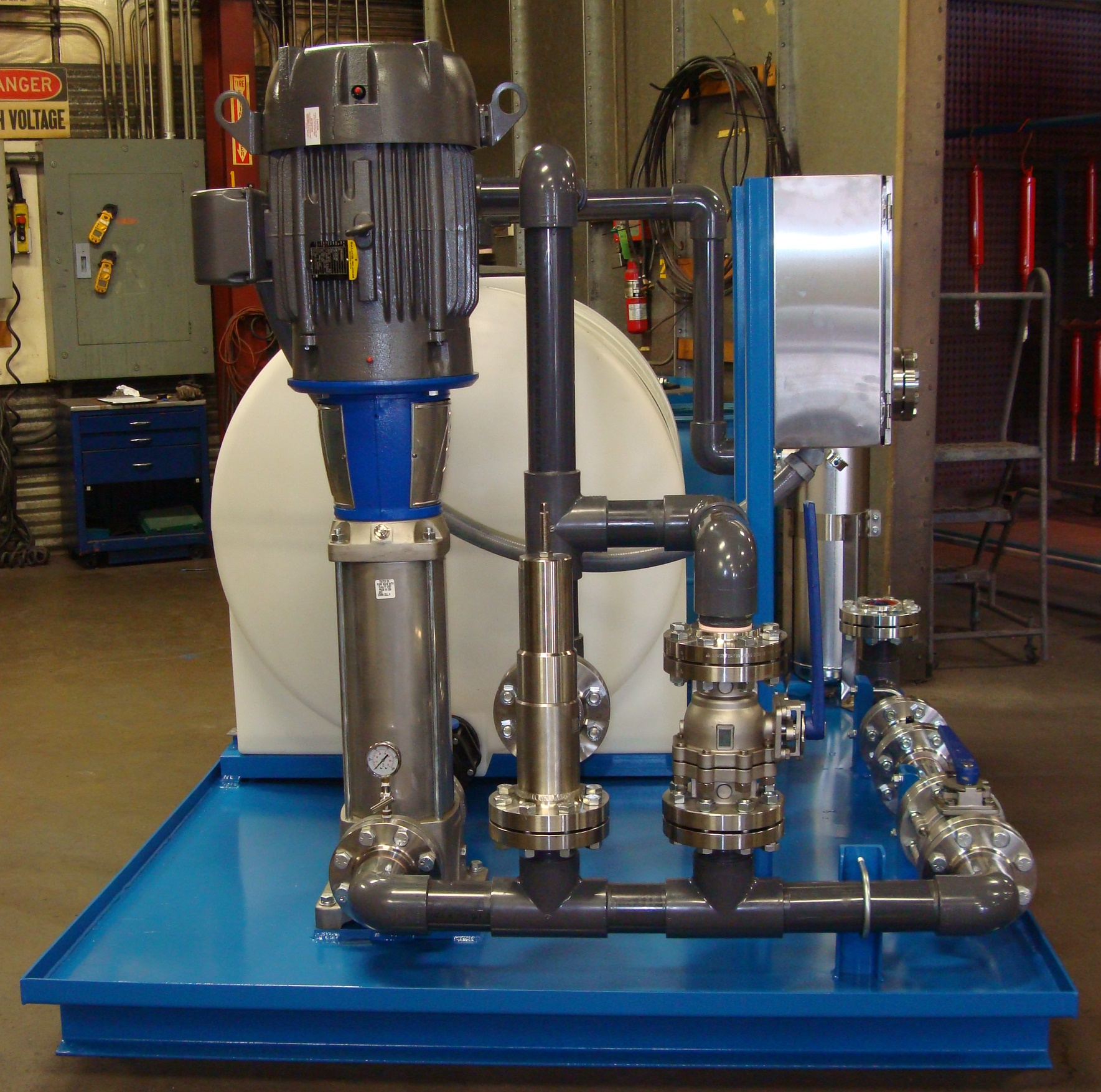 custom hydraulic power assemblies